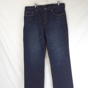 Banana Republic 38x32 Dark Blue Jeans Straight Leg